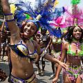DC Caribbean Carnival No 8 Print by Irene Abdou