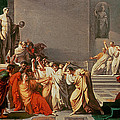 Death of Julius Caesar Poster by Vincenzo Camuccini