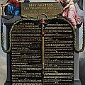 Declaration of the Rights of Man and Citizen Poster by French School