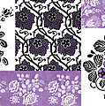 Deco Flower Patchwork 3 Print by JQ Licensing