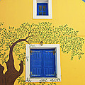 decorated house Poster by Meirion Matthias