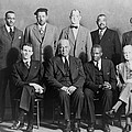 Defendants And Naacp Counsel Poster by Everett