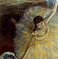 DEGAS: ARABESQUE, 1876-77 Print by Granger