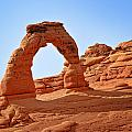 Delicate Arch The Arches National Park Utah Print by Christine Till
