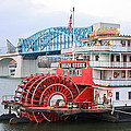 Delta Queen in Chattanooga Poster by Tom and Pat Cory