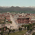 Denver, Colorado, Photochrom By William Print by Everett