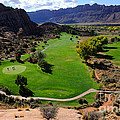 Desert Canyon Golf Course Print by Gary Whitton