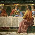 Detail from the Last Supper Print by Domenico Ghirlandaio