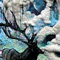 Detail of Winter Print by Kimberly Simon