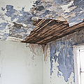 Deteriorating Ceiling in an Abandoned House Poster by Jetta Productions, Inc
