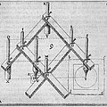 Diagram Of A Pantograph Poster by Middle Temple Library