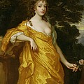 Diana Kirke-Later Countess of Oxford Print by Sir Peter Lely