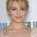 Dianna Agron At Arrivals For I Am Poster by Everett