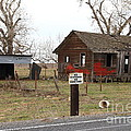 Dilapidated Old Farm House . No Trespassing . No Hunting . 7D10335 Poster by Wingsdomain Art and Photography