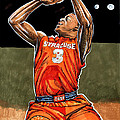 Dion Waiters Print by Dave Olsen