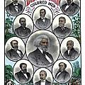 Distinguished Colored Men Poster by War Is Hell Store