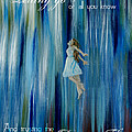 Divine Flow Poster by The Art With A Heart By Charlotte Phillips