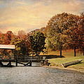 Dock for Two Print by Jai Johnson