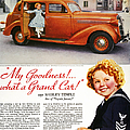 DODGE AUTOMOBILE AD, 1936 Print by Granger