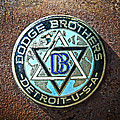 Dodge Brothers Badge Poster by Steve McKinzie