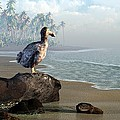 Dodo Afternoon Print by Daniel Eskridge