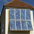 Domestic Solar Panel Poster by Friedrich Saurer