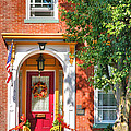 Door In Historic District I Poster by Steven Ainsworth