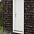 Doorway with Daisies Poster by Michelle Wiarda