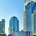 Downtown Nashville II Print by Steven Ainsworth