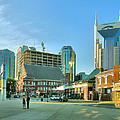 Downtown Nashville III Print by Steven Ainsworth