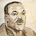 Dr. Martin Luther King Jr. Print by Donald William
