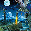 Dragon Spit Poster by The Dragon Chronicles - Robin Ko