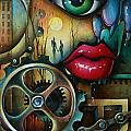 Dreamers 3 Print by Michael Lang
