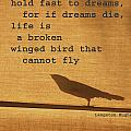 Dreams on a Wing Print by adSpice Studios