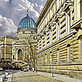 Dresden Academy of Fine Arts Print by Christine Till