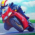 Ducati 916 Poster by Brian  Commerford