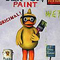 Duck Boy Print by Leah Saulnier The Painting Maniac