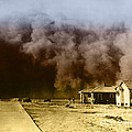 Dust Storm, 1930s Print by Omikron