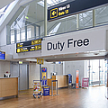Duty Free Shop at an Airport Poster by Jaak Nilson