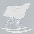 Eames Rocking Chair Print by Naxart Studio