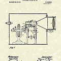 Edison Kinetoscope 1911 II Patent Art  Poster by Prior Art Design