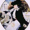 Edith Roosevelt 1861-1948, First Lady Print by Everett