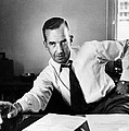 Edward R. Murrow, 1954 Print by Everett