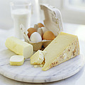 Eggs And Cheese Poster by David Munns