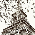 Eiffel Fame Poster by Linde Townsend