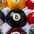 Eight Ball Poster by Garry Gay