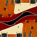 Electric Guitar II Poster by Mike McGlothlen