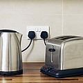 Electric Kettle And Toaster Poster by Johnny Greig