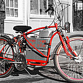 Electric Vehicle . Peddle Power . Infinite Miles To The Gallon . 7D12730 Poster by Wingsdomain Art and Photography
