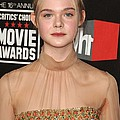Elle Fanning At Arrivals For 16th Print by Everett